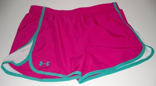 "Under Armour Girls' UA Escape 3"" Shorts (Large, Pink)  //Price: $ & FREE Shipping //     #sports #sport #active #fit #football #soccer #basketball #ball #gametime   #fun #game #games #crowd #fans #play #playing #player #field #green #grass #score   #goal #action #kick #throw #pass #win #winning"