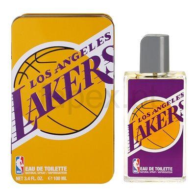 NBA Los Angeles Lakers (metal case) Eau de Toilette para homens   fapex.pt
