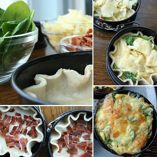 An Easy Classic: Bacon and Spinach Quiche