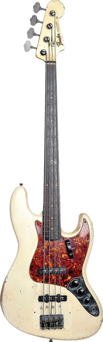 Steve Wariner's 1962 Jazz Bass - given to him in 1973 by his uncle, Jimmy Wariner, when Steve was offered a job playing bass for Dottie West....(I do like a bit of a back-story behind a bass)....K