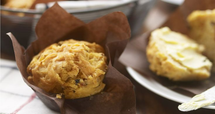 Christine Bailey's Gluten Free Sundried Tomato and Olive Muffins