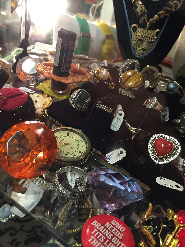 Fun colorful vintage jewelry