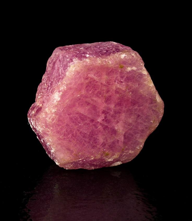 raw sapphire.