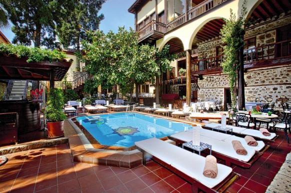 Antalya – dein Last Minute Schnäppchen: 7 Tage im beliebten 4-Sterne Altstadthotel mit Pool, Halbpension, Flug + Zug zum Flug ab 244 € - Urlaubsheld   Dein Urlaubsportal