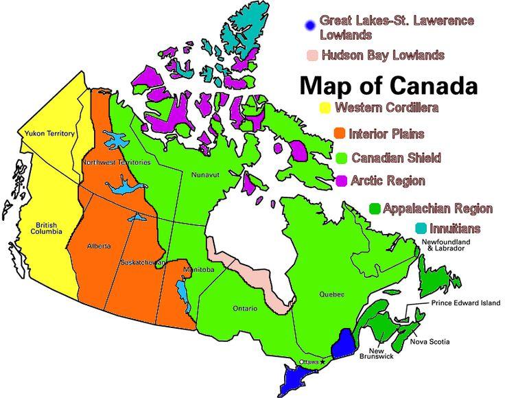 appalachian region of canada map - Google Search
