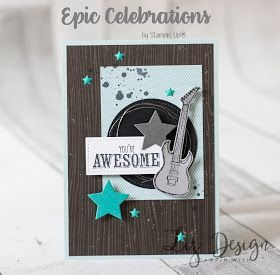 LizDesign: Stampin with Liz Design: Epic Celebrations Card!