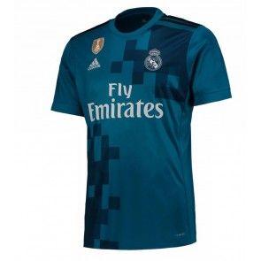Real Madrid Alternativní Dres 17-18 Krátký Rukáv