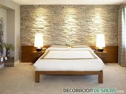Resultado de imagen para paredes con piedra sala