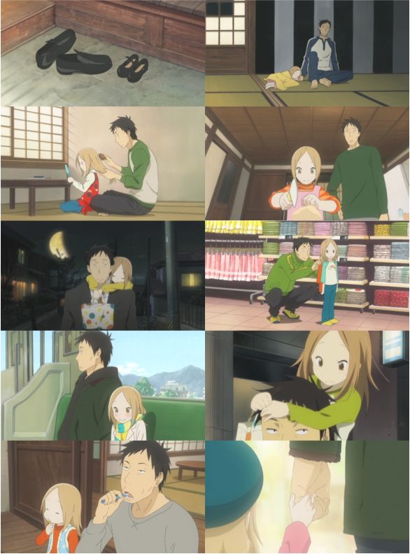 """Day 11 - Favorite family: Rin & Daikichi, Usagi Drop   """"If it's for Rin, I can accept my fate."""""""