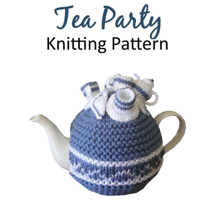 Tea Party Tea Cosy Knitting Pattern