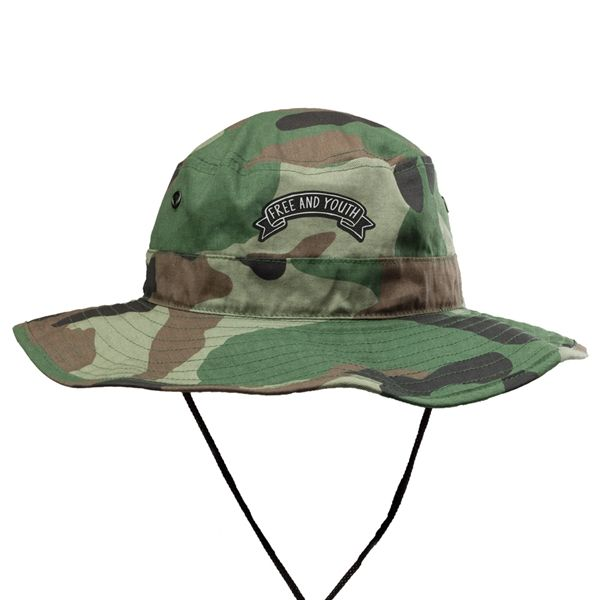 Camo Bucket Hats with Draw Cord Custom Bucket Hats ab06e39cf34