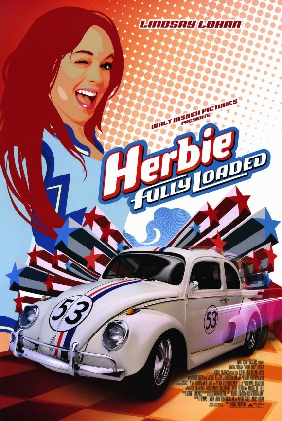 Herbie redux. A cool poster design that showed the marketers understood the vibe.