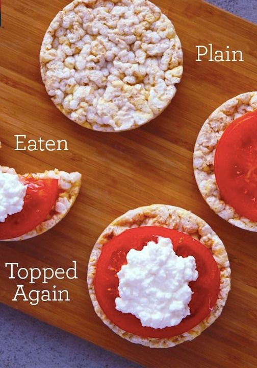 No matter what topping you choose, lightly salted Quaker® Rice Cakes create the perfect snack.