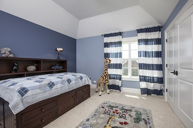 Boy Bedroom Paint Color Sherwin Williams Aleutian With Sherwin