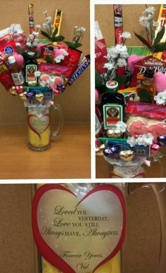 diy valentine's day beer labels
