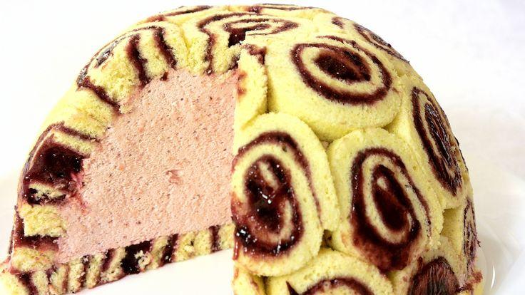 """Торт-десерт """"Шарлотта"""""""