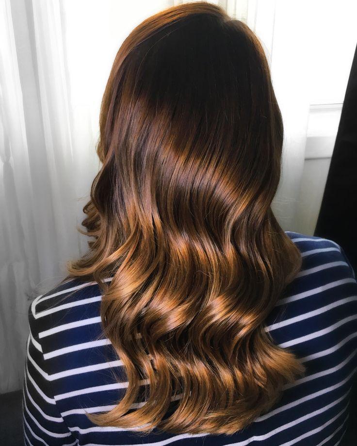 Wavy silky hair