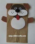 Dog Puppet - Saint Bernard