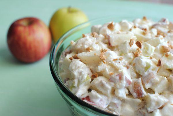 Skinny Points Recipes  » Caramel Apple Salad