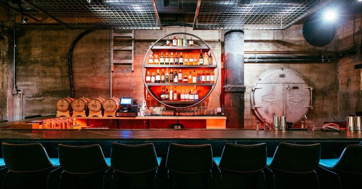 Wait till you see Izakaya Ronin's boiler room-turned-bar and late-night Japanese food stop