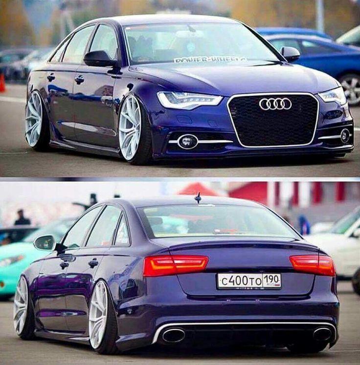 Lowered Audi A6