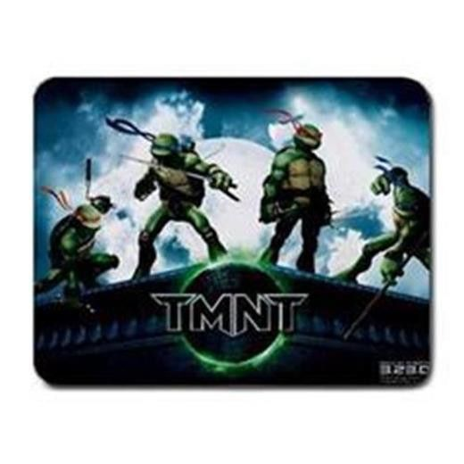 ar09-17 TMNT PC Cloth Cover Square Mouse Pad
