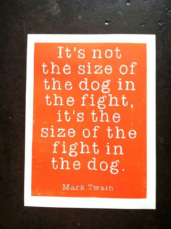 Mark Twain Quote -My all time favorite..