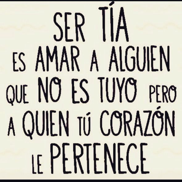 #tiaorgullosayfeliz #missobrinos #sertiaeslomejor