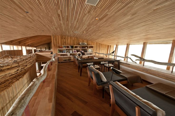 Tierra Patagonia Hotel in Torres del Paine, Chile by Architect Cazu Zegers