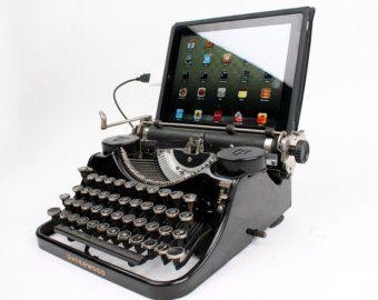 USB TypewriterComputer-Tastatur und iPad von usbtypewriter auf Etsy
