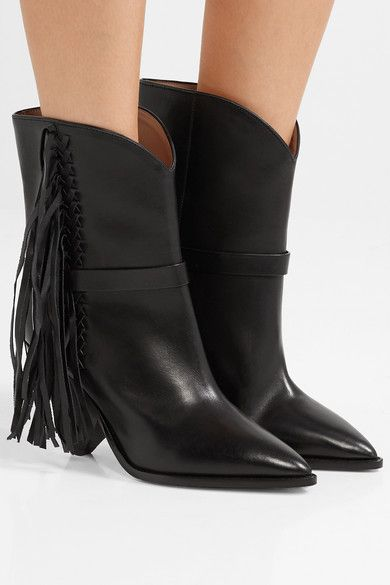 Fringed A Isabel Marant Porter Boots Net Leather Loffen Ankle HqxEWxUPT