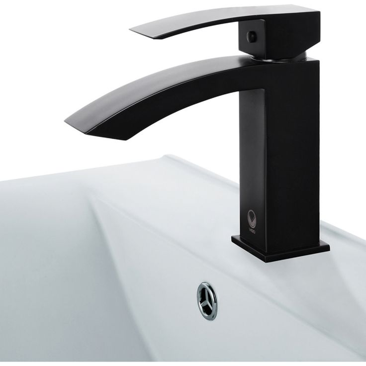 vigo industries vg01015mb universal matte black one handle bathroom faucets efaucetscom