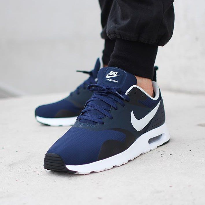 Nike Air Max Tavas Black And Blue