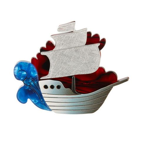Erstwilder Limited Edition Seafarer Brooch, $34.95 (AUD)