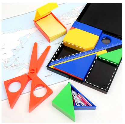 When did office supplies become this fun?! Office Supplies Puzzle Set ($13.95) ^_^