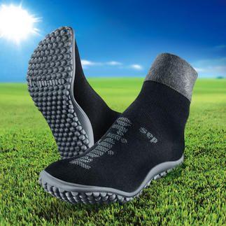barefoot-leguano® of barefoot-leguano® ballerina Net zo gezond en ontspannend als blote voeten. Even warm en comfortabel als sokken.