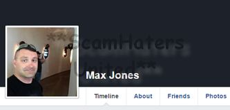 MAX JONES.... VERY COMMONLY USED PICTURE IN #ROMANCE SCAMMING. @facebook ALWAYS @google https://www.facebook.com/FIGHTINGTHEMUGU/posts/544923965694985