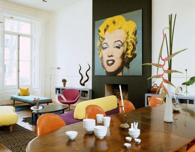 Интерьер в стиле поп-арт: 5 особенностей | Sweet home