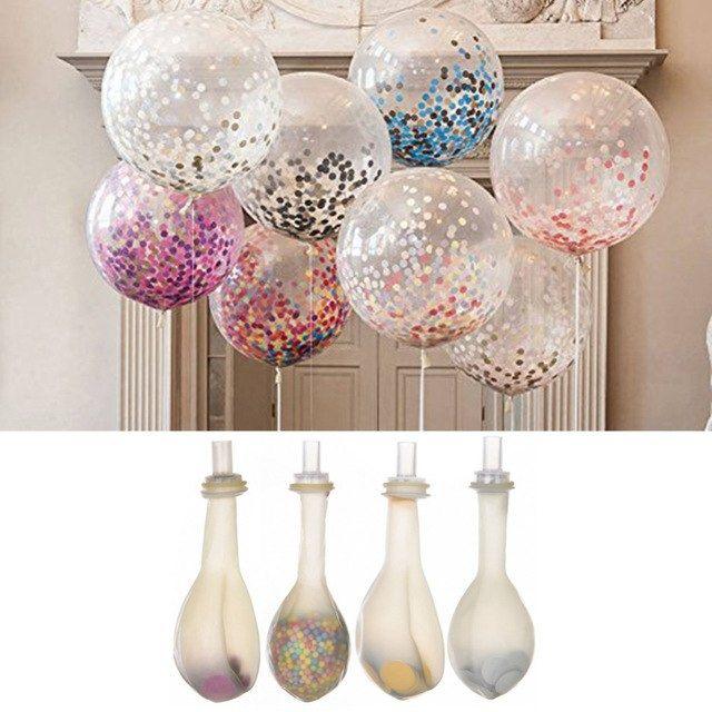 35 Nieuw Bruiloft Decoratie Ballonnen Confetti Ballonnen Ballonnen Bruiloft Ballonnen