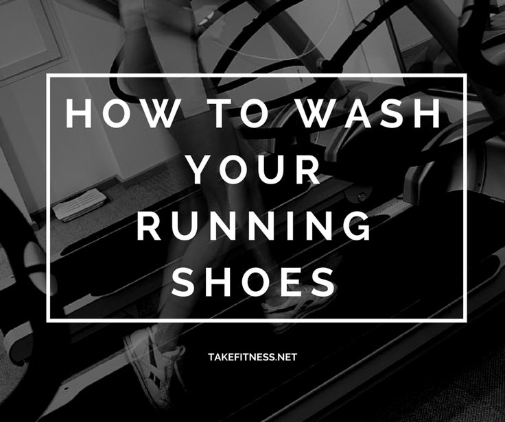 How To Wash Your Running Shoes - Take Fitness