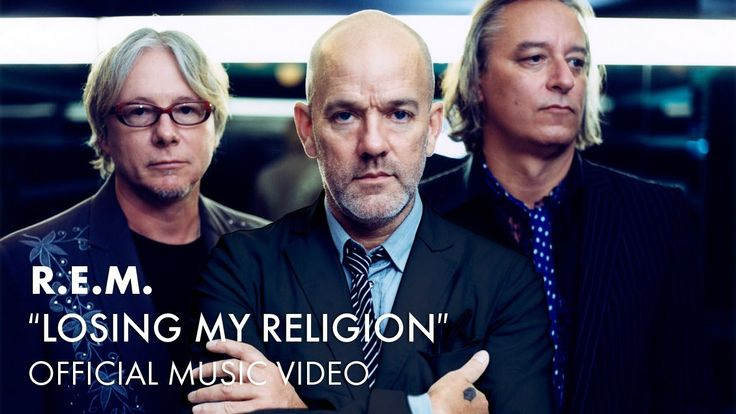 "R.E.M. Losing My Religion: ""That's me in the corner; That's me in the spotlight; Losing my religion; Trying to keep up with you; And I don't know if I can do it; Oh no, I've said too much; I haven't said enough."""