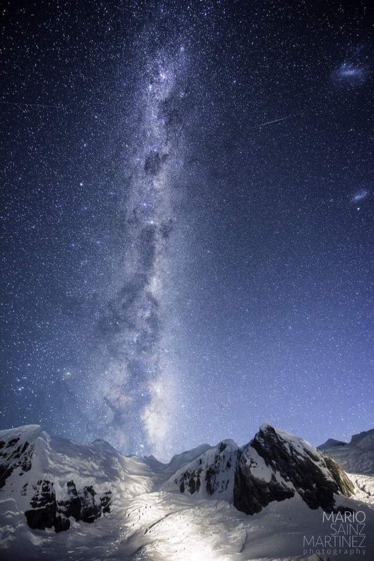 Antarctic Night Sky, photo take on our amazing One Ocean cruise. photo credit: Mario Sainz Martinez.