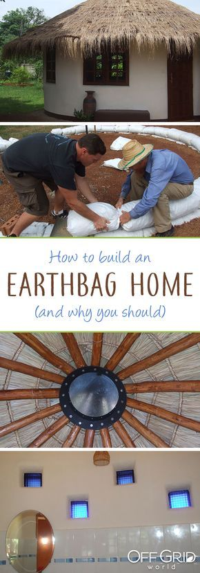 How to build an earthbag home, and why you should!