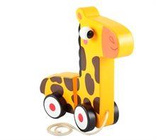 Trækdyr - Giraf på hjul - Halløj.dk