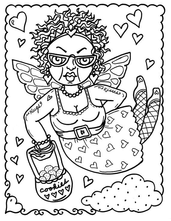 Odd Coloring Pages