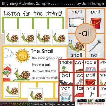 Worksheets Rhymes Words Examples rhyming games words and simple poems on pinterest
