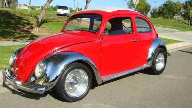 1962 Custom Chrome VW Beetle For Sale @ Oldbug.com