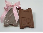Chocolate Theater Ticket  Favors