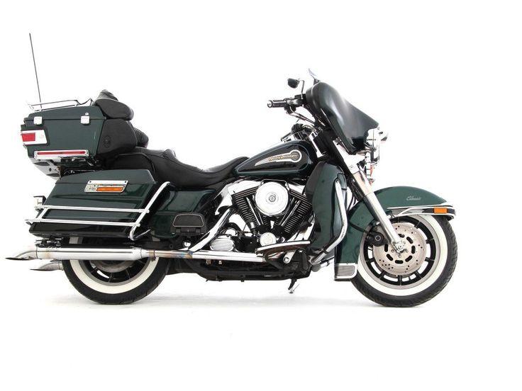 Harley-Davidson-FLHTCI Electra Glide Classic - Groen / Zwart – (117.998 km) | Motor Saloon