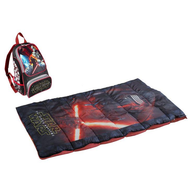 Lucas Star Wars Backpack Sleeping Bag Set,
